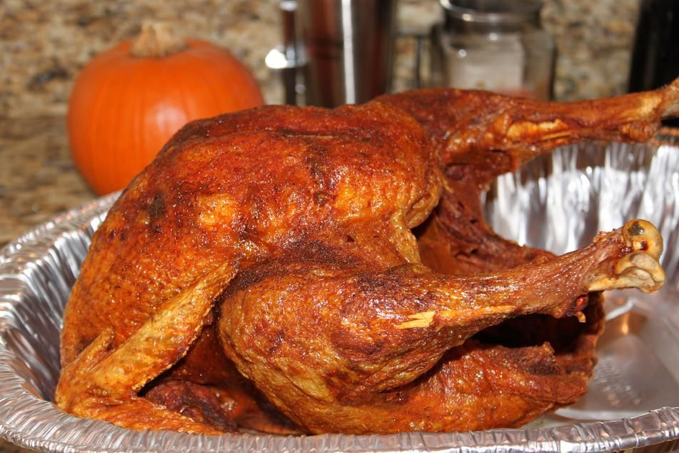 We Always Slow Roast Our Turkey Overnight And Wake Up To The Aroma