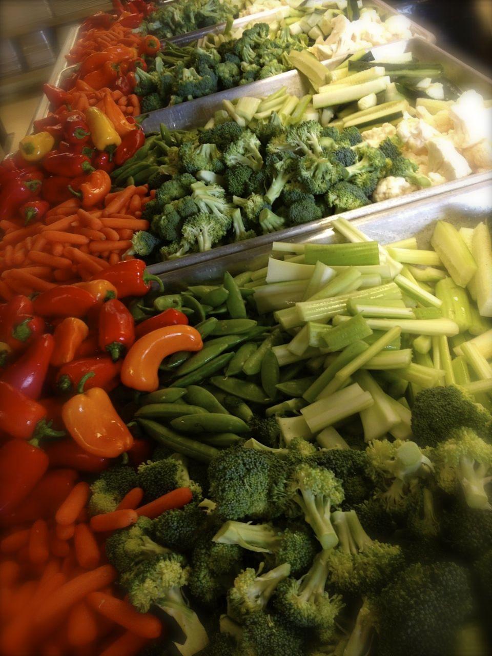 Finger Salad pans