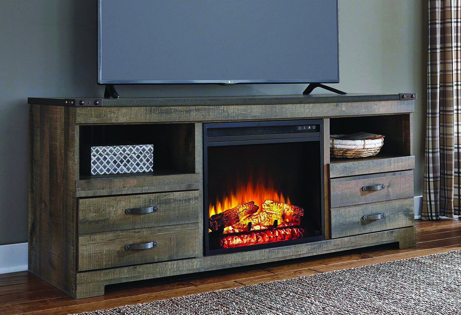 Superb Fireplace Tv Stand Black Friday Deals Exclusive On