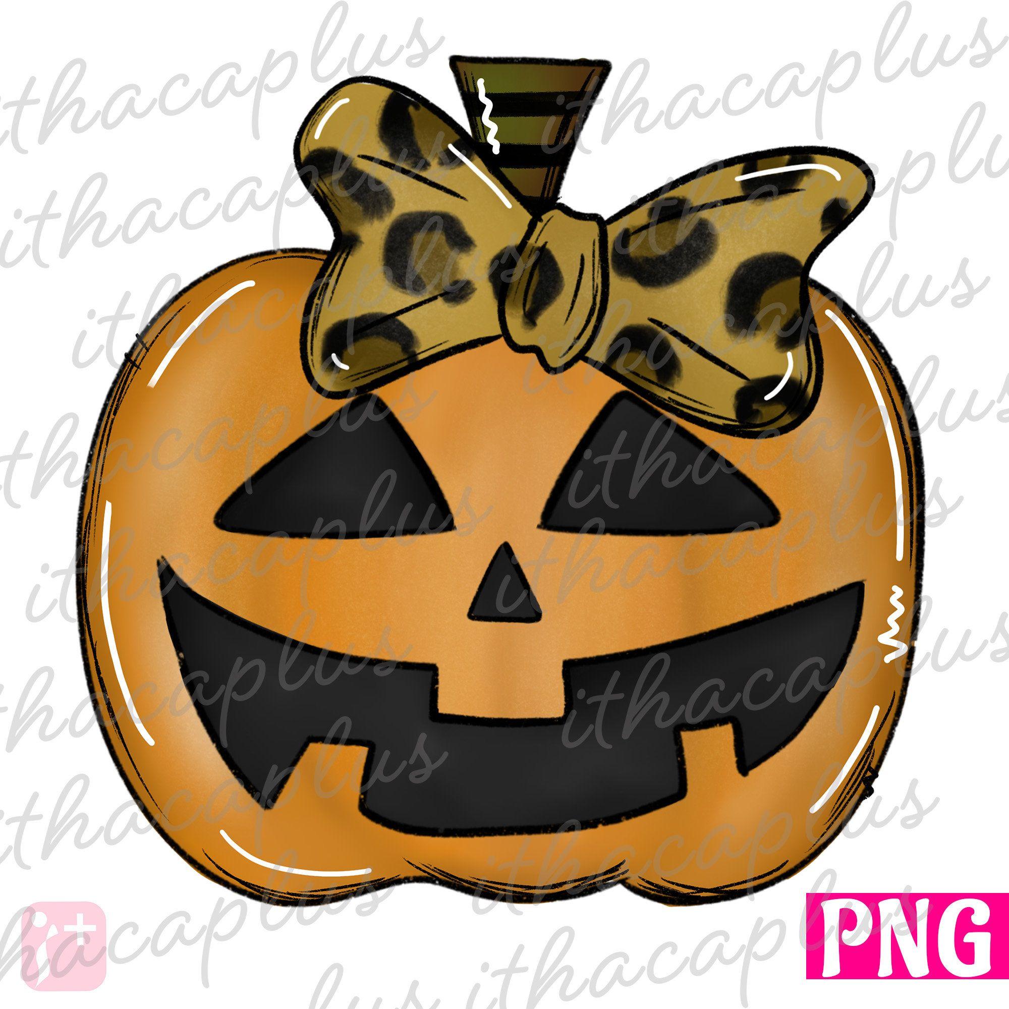 Fall Pnghalloween Png Halloween Leopard Pumpkin Sublimation Etsy In 2021 Whimsical Halloween Halloween Digital Pumpkin Drawing