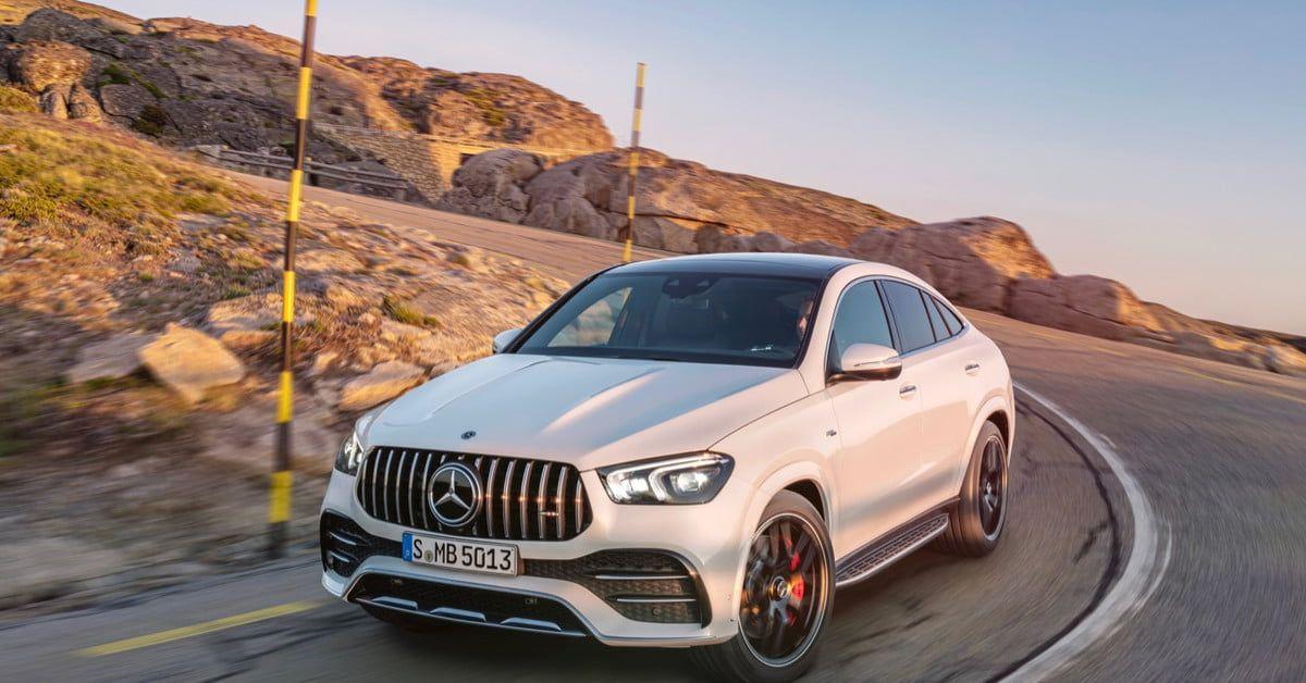 2021 MercedesAMG GLE Coupe Gets MildHybrid Power