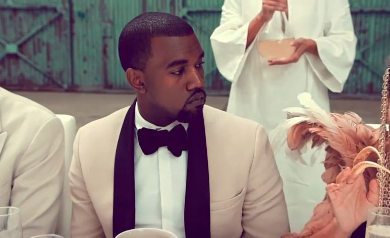 So I Think Its Time For Us To Have A Toast Kanye West Kanye Pink Tux