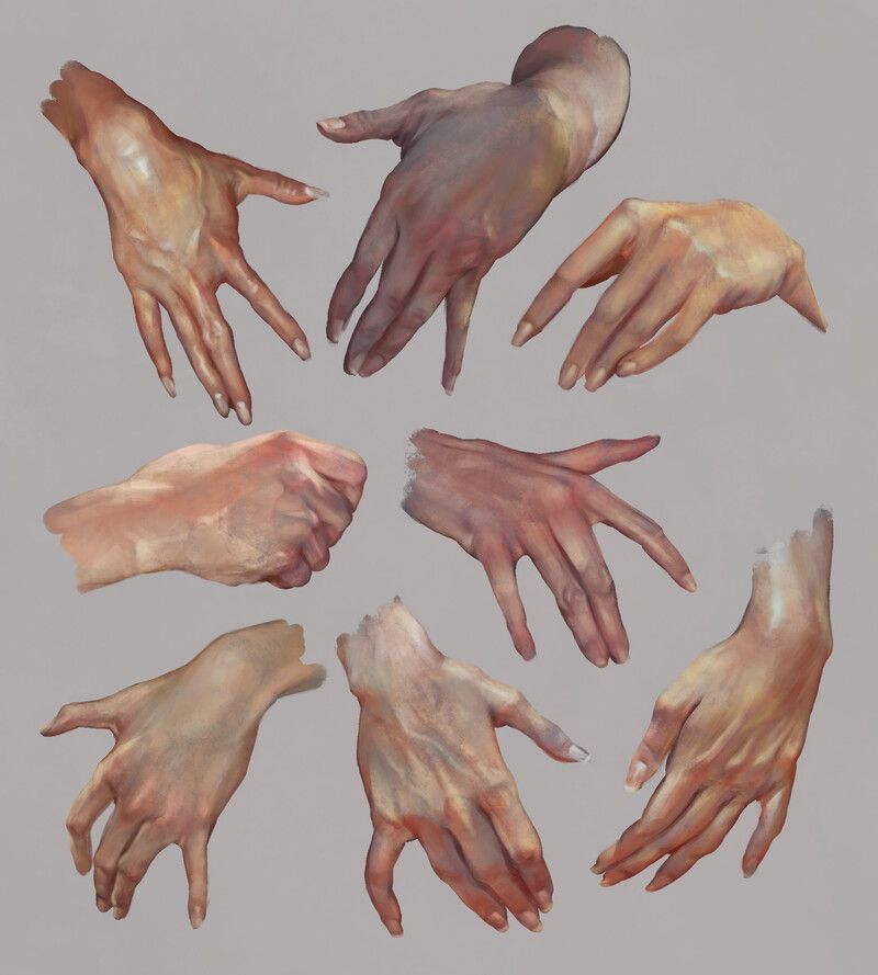 Hand Studies, Christophe Young