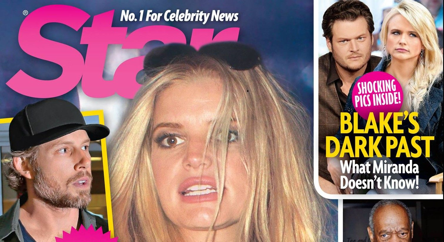 Jessica Simpson & Eric Johnson Headed Toward Divorce [STAR MAGAZINE COVER]