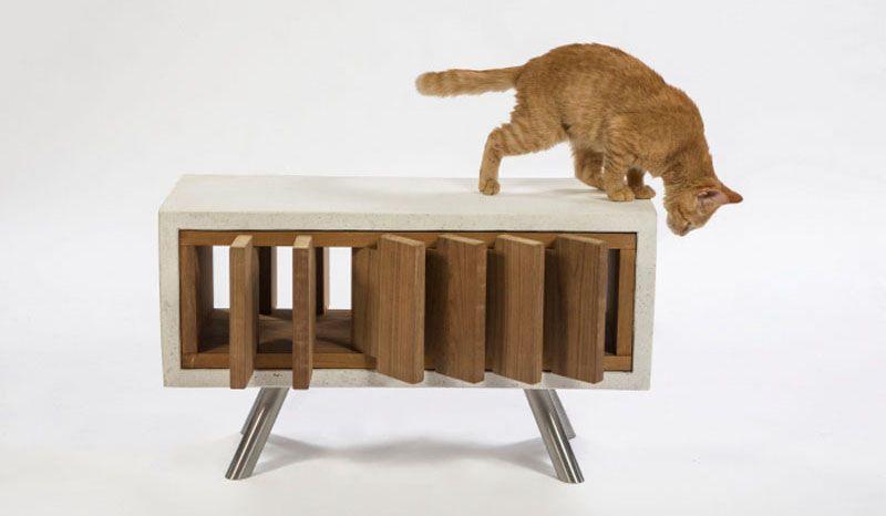 12 Sociétés d'Architecture de Los Angeles Ont Conçu Abris de Chat Pour l'œuvre Cat-Shelters-For-Charity_02