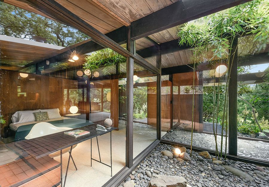 this mid century home by roger lee is was designed in 1954 and completed in 1955 - 1955 Home Design