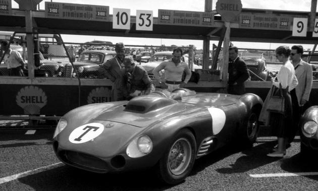 Moss With The Maserati 450s 1956 Swedish Grand Prix Classic