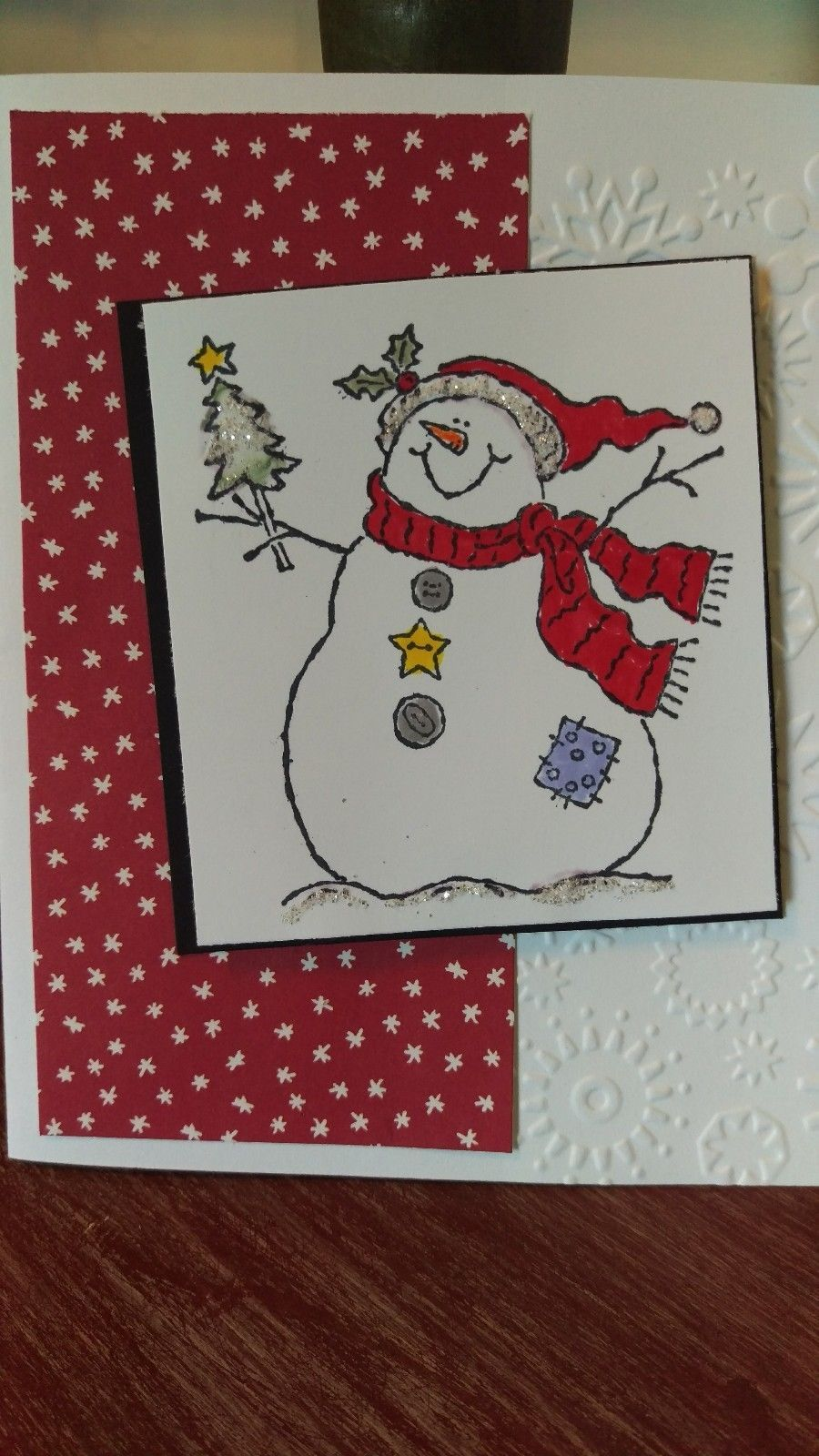 Stampin Up Holiday Snowman Greeting Card Kit For Sale Cad 1001
