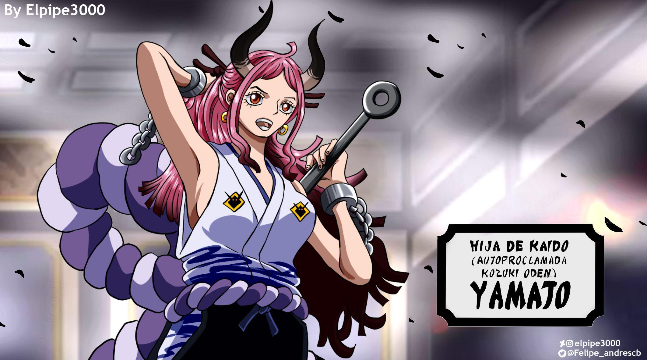 One Piece 984 Yamato Aparece by elpipe3000 on DeviantArt