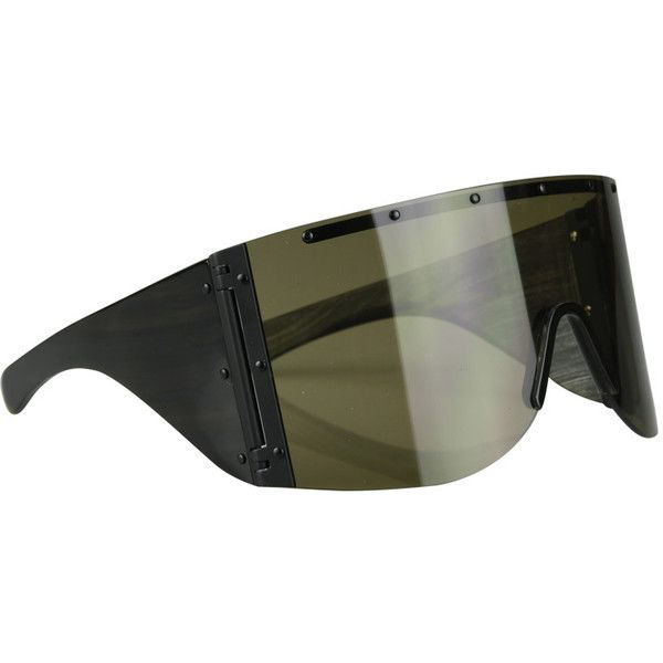 340ad999f156 Rick Owens Horn sunglasses ( 986) ❤ liked on Polyvore