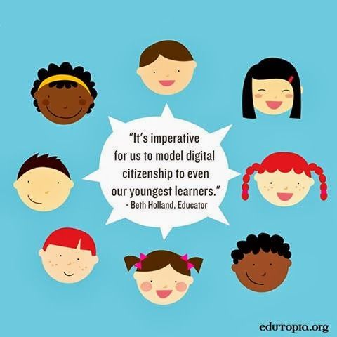 EDUTOPIA:  Digital Citizenship has been a big topic of discussion at #ISTE13. How do you approach this issue in your classroom? Read how and why we should start teaching digital citizenship to even our youngest students: http://edut.to/14sUd6L. #edtech #digitalcitizenship