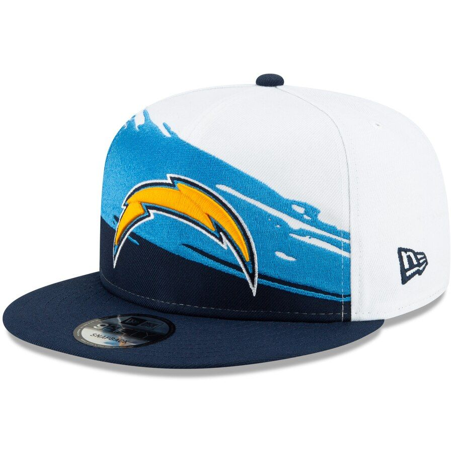 Los Angeles Chargers New Era Vintage Paintbrush 9fifty Adjustable Hat White Navy Your Price 33 99 Los Angeles Chargers Caps Hats In 2019 Hats Caps