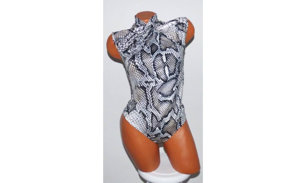 a7d3b91c10 Állatmintás csavart garbós body - Póló / Pulóver - Luna Gardrobe Női ruha  WebÁruház, Akciós