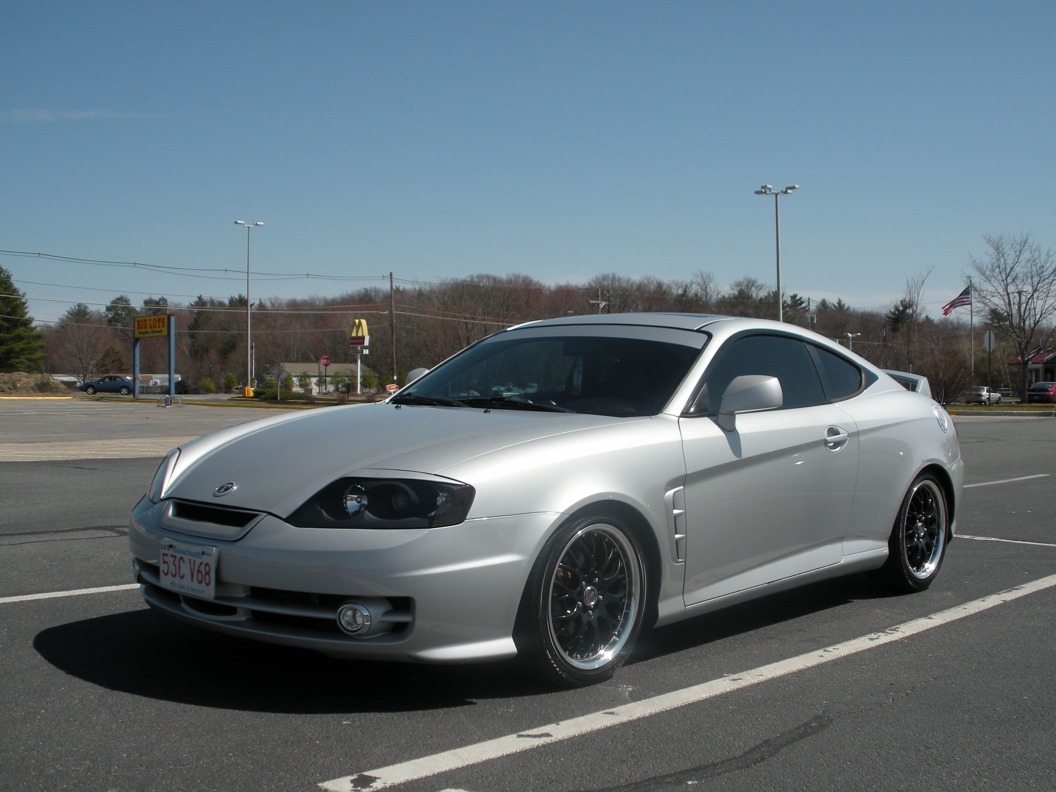 Gray Hyundai Tiburon 138 Y Cars V6 Car Accessories