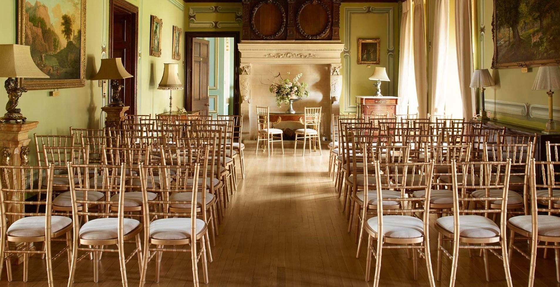 Wedding decoration ideas in the house  Ceremonies  Fetcham Park  Wedding Venues  Pinterest  Civil