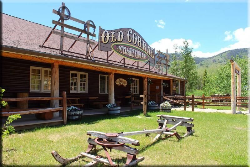 The Old Corral Hotel & Steakhouse in Centennial, WY Home