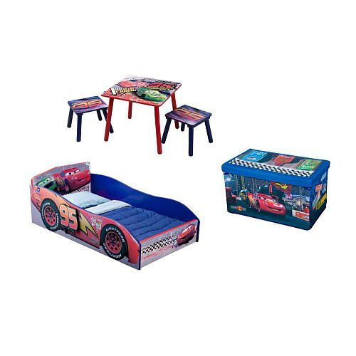 Disney Cars Bedroom Set | Keith Disney Pixar Cars 2 5 Piece Bedroom Set Delta