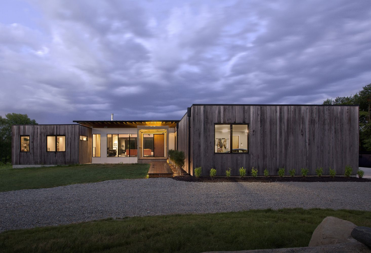 Gallery Of Copperwood House Haus In 2020 Architecture American Houses Countryside House