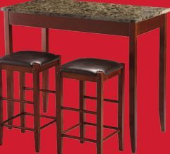 Home Studio 3 pce Marble Tavern Set from Home Outfitters $99.99 (57% Off) -