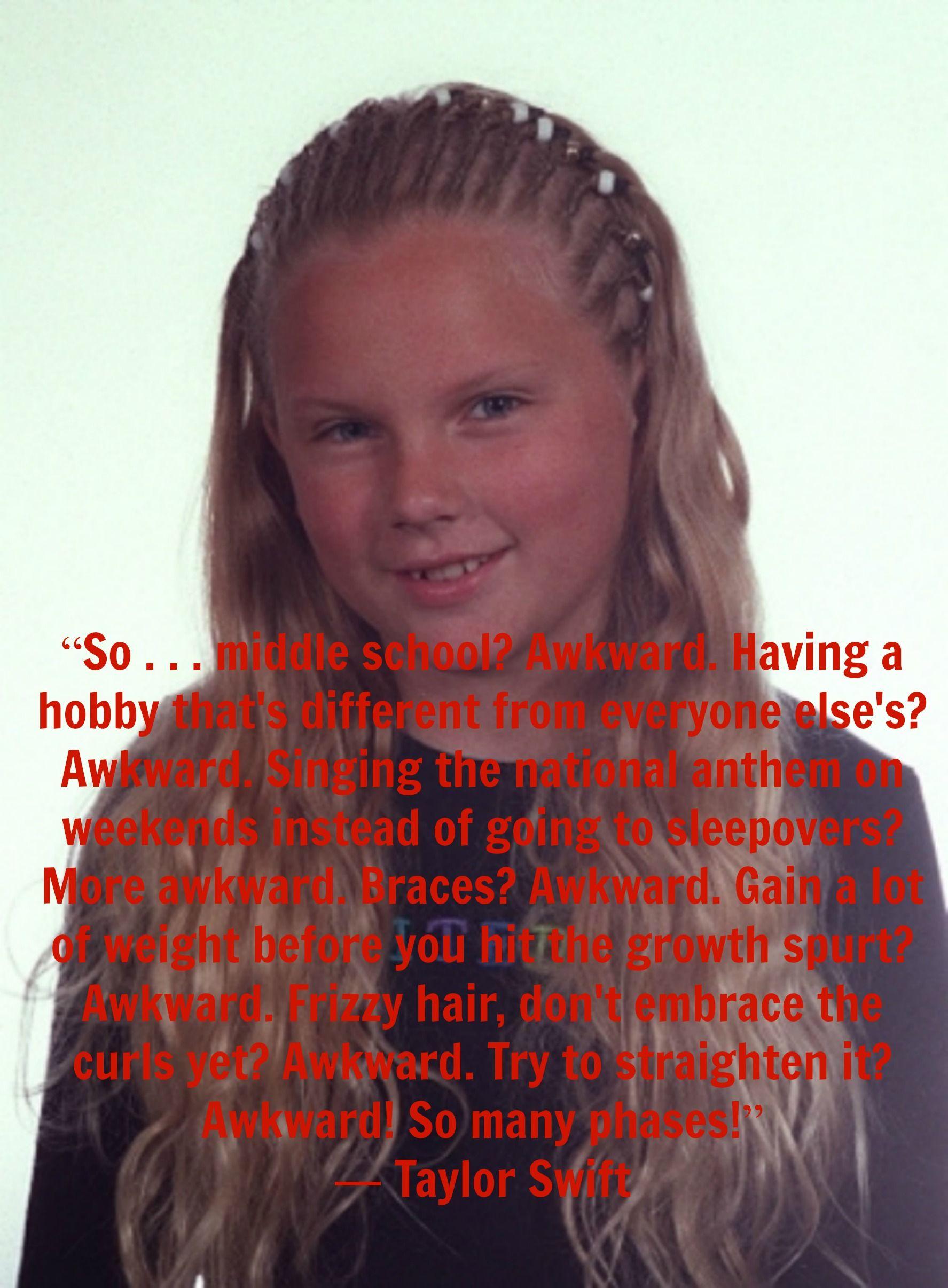 Taylor Swift Awkward Awkward Frizzy Hair Everyone Else