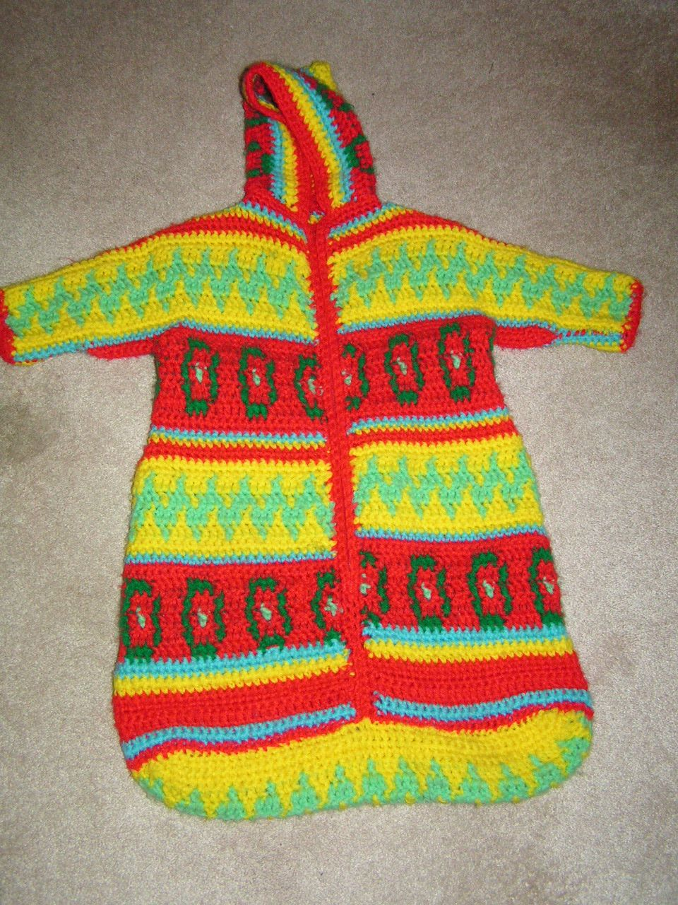 10aff9d49 Hippie Baby Bunting - 1972