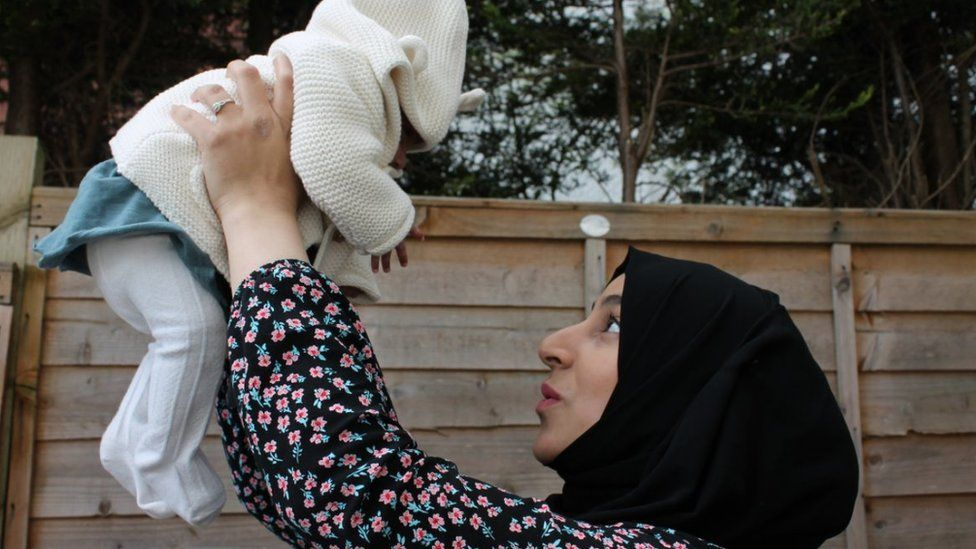 The baby she was told she might never meet: Marriam reunited with daughter Khadija   Miracle Muslim Baby