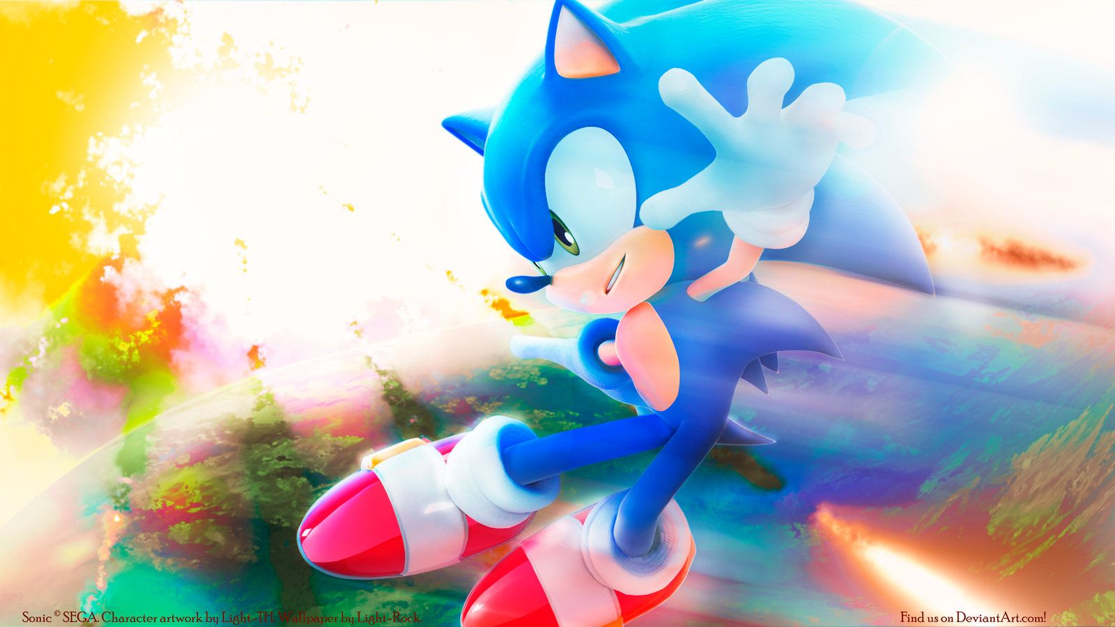 Sonic The Hedgehog Wallpapers By Light Rock On Deviantart Sonic