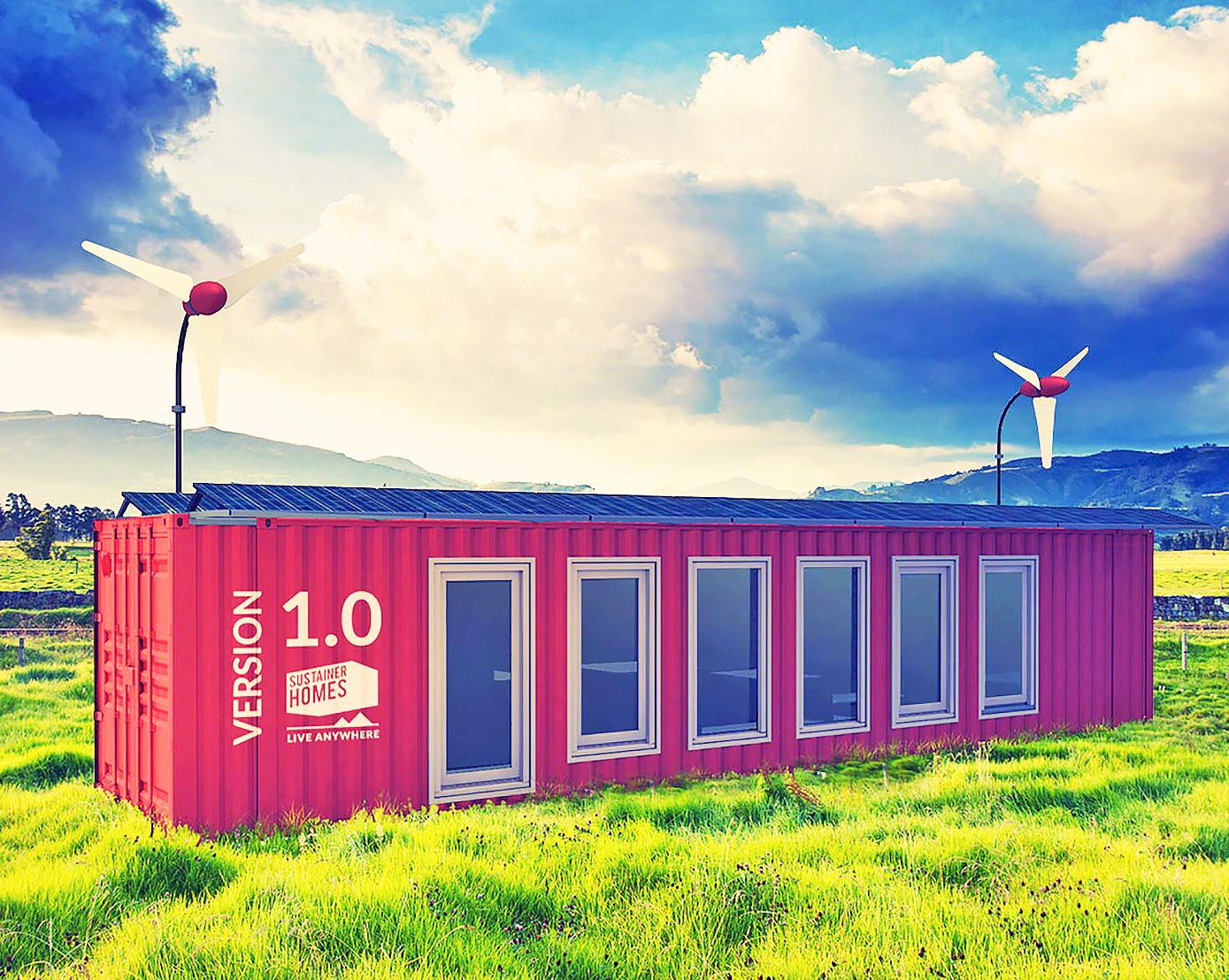 Best Kitchen Gallery: Solar Powered Sustainer Homes Give You The Freedom To Live Anywhere of Solar Shipping Container Home on rachelxblog.com