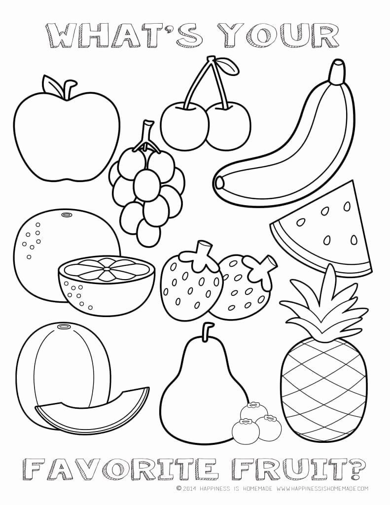 Pin By Neriman On ผลไม Kindergarten Coloring Pages Fruit Coloring Pages Vegetable Coloring Pages