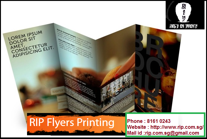 Rest In Print Offers Cheap Flyer Printing Services At A Reasonable