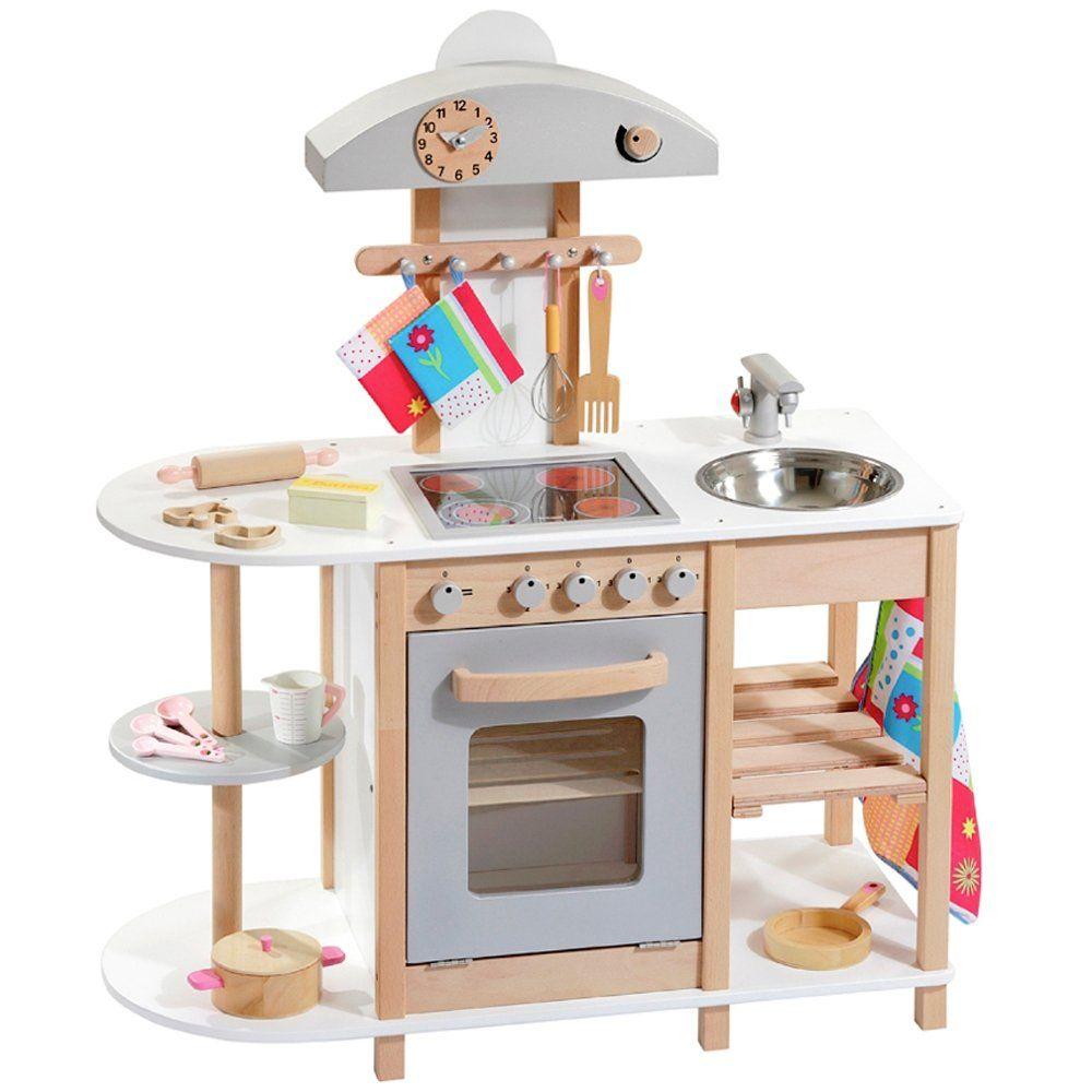 Deluxe - Spielküche aus Holz von howa 4815: Amazon.de: Spielzeug ...