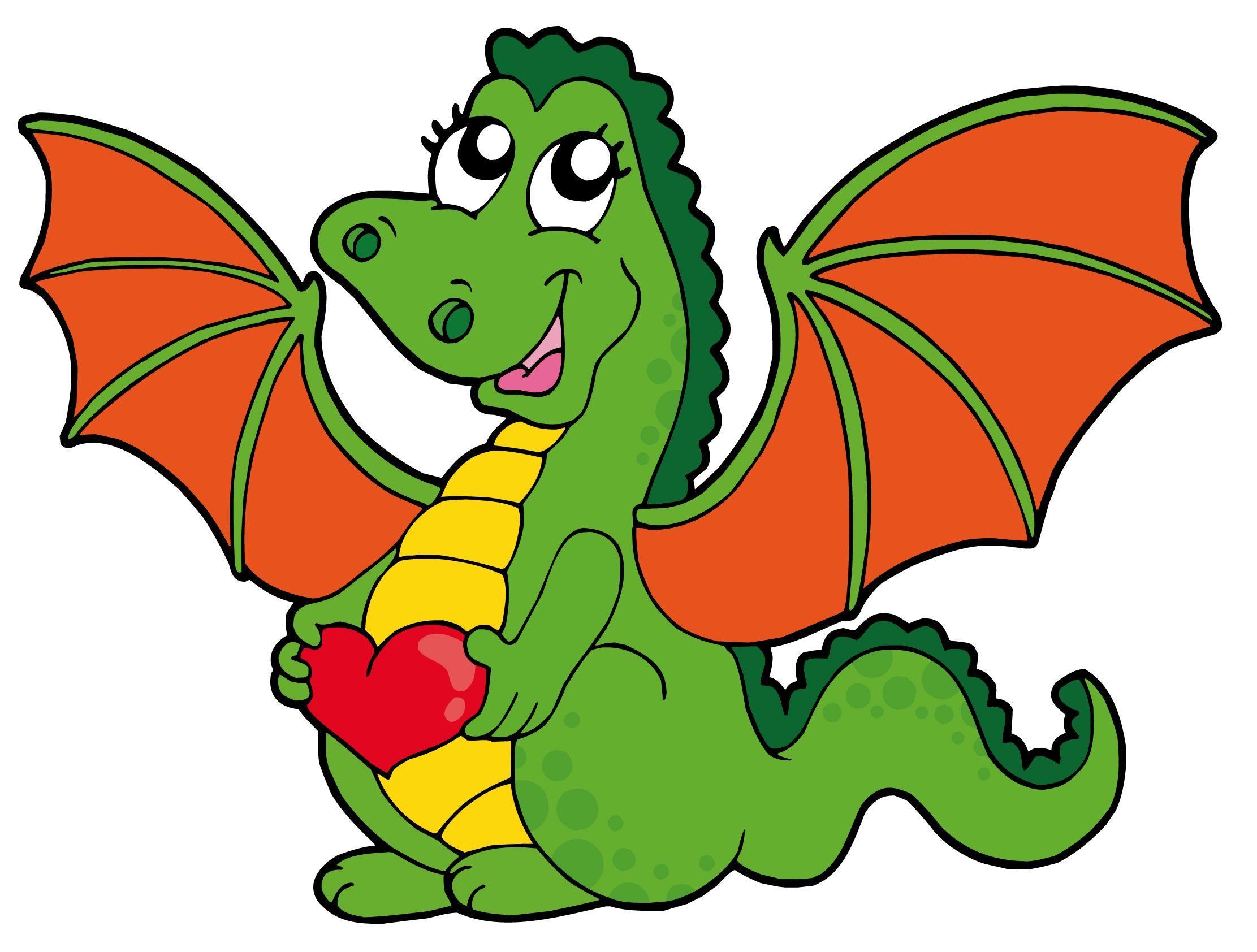 dragon clipart cartoon - Cerca amb Google | Drakar | Pinterest ...