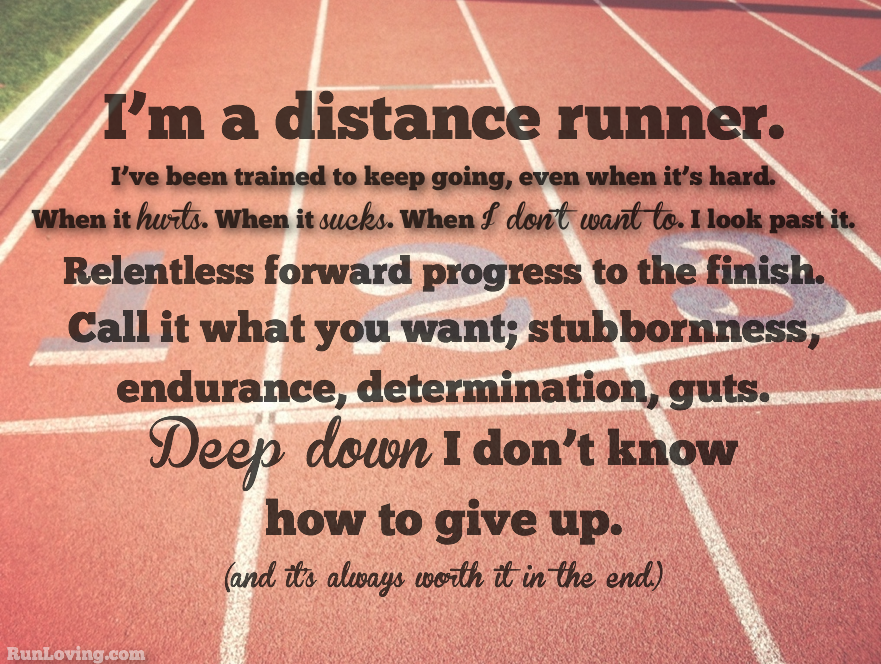 Cross Country Quotes Amusing One Thing I Don't Know  Running Cross Country And Distance Design Ideas