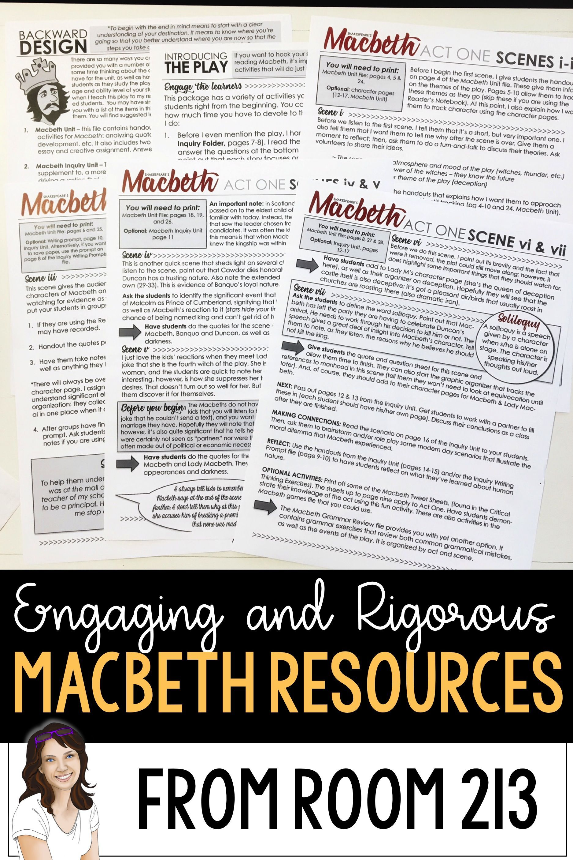 Teaching Macbeth Room 213 Has Everything You Ll Need To Engage Your Students