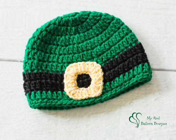 St Patrick's Day hat with Buckle