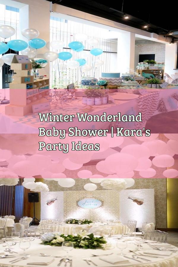 Winter Wonderland Baby Shower | Kara's Party Ideas