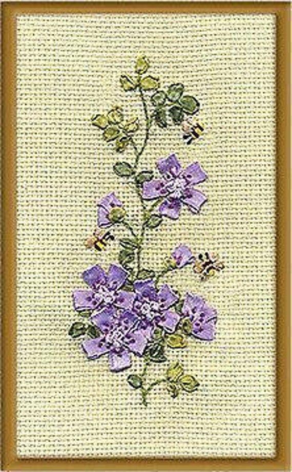 Panna Ribbon Embroidery Kit - C-0913 Bees(c-0913)