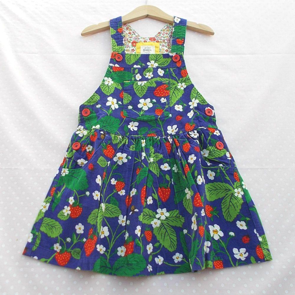 90aabd740 Details about BNWOT Girls Mini Boden Strawberry Bee Ladybird ...