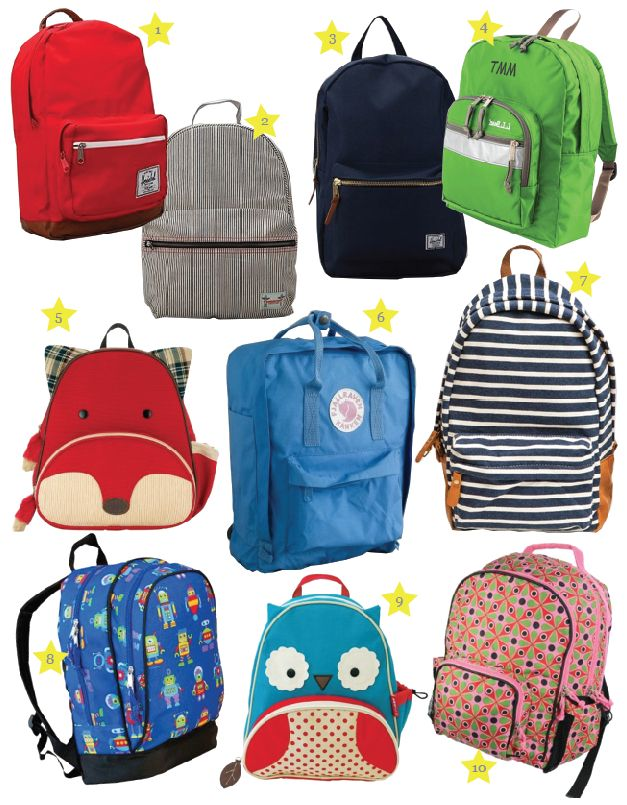 Nice collection of backpacks