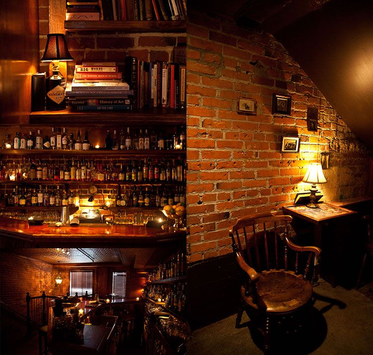 Bathtub Gin Amp Co Seattle A Speakeasy Style Bar In The