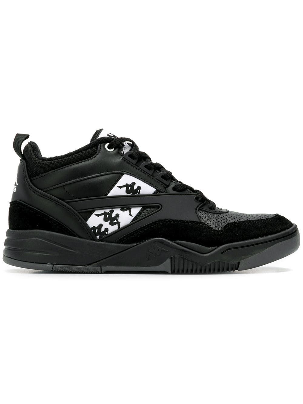 e21fd953389e KAPPA KAPPA HI-TOP SNEAKERS - BLACK. #kappa #shoes | Kappa in 2019 ...