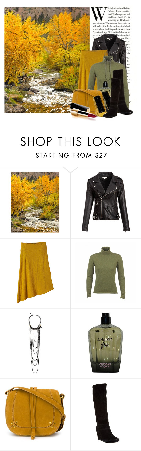 """A Mountain Stream"" by queenrachietemplateaddict ❤ liked on Polyvore featuring Grandin Road, prAna, French Connection, Emanuel Ungaro, Jérôme Dreyfuss, Geox, Mapleton Drive and Chanel"