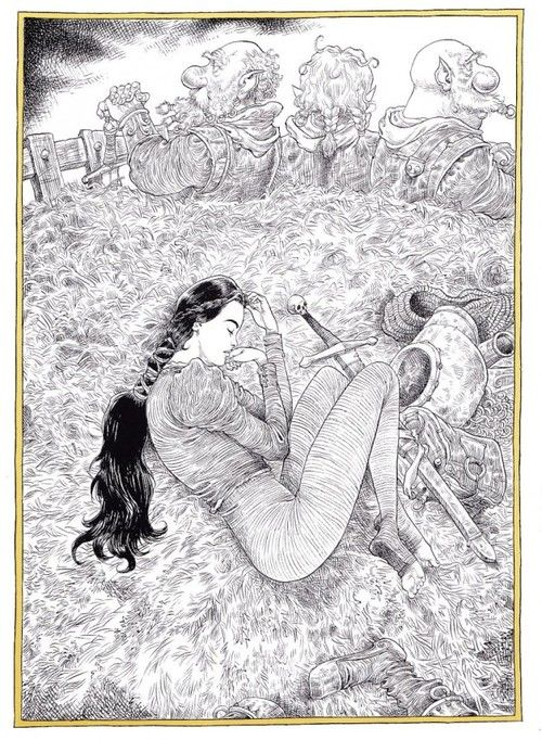 Sleeper & the Spindle, ill. by Chris Riddell