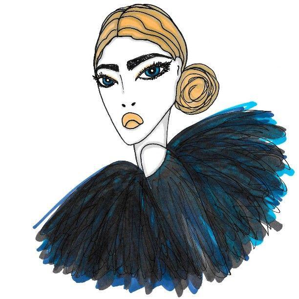 « #fashionillustration #fashionillustrations #illustrations #illustration #fashionsketch #sketch #art #iloveart #draw #drawing #fashiondrawing… »