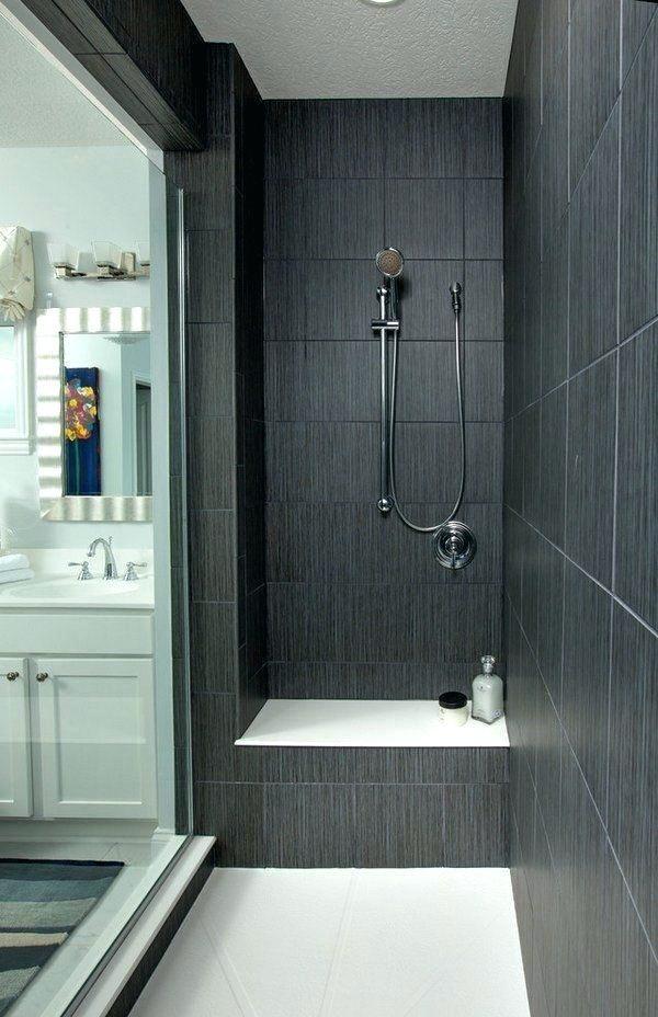 Very Best Dark Tile Shower Ot35 Roccommunity Large Shower Tile Dark Tile Shower Black Tile Bathrooms