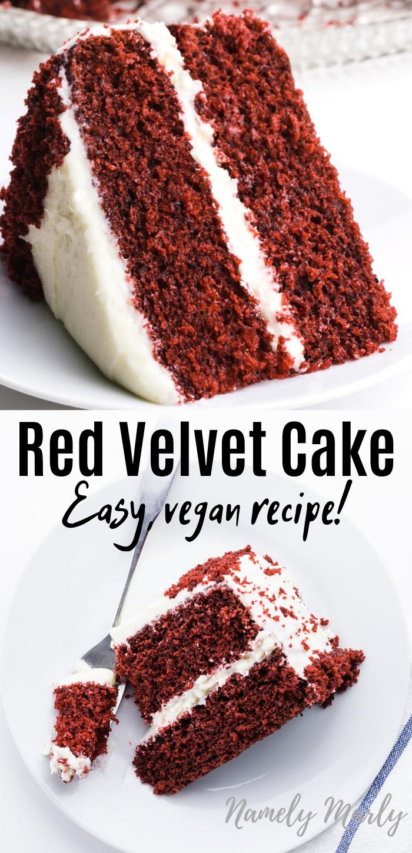 Best Vegan Red Velvet Cake Recipe! -   21 cake Carrot red velvet ideas