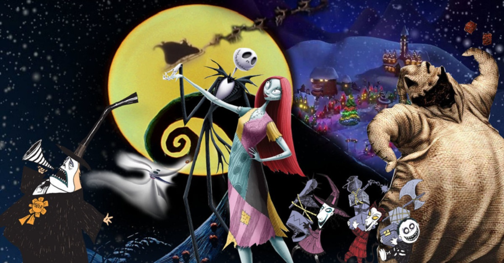 The Nightmare Before Christmas 25th Anniversary Blu Ray Animation Christmaswallpaper Christmas Wallpaper Noel Gecesi Kabusu Yilbasi Duvar Kagidi