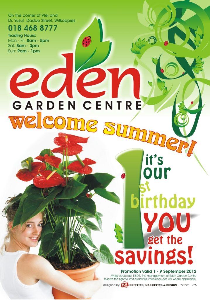 Pin By Madlines Design Studio On Flyer Designing Flyer Design Garden Of Eden Garden Center