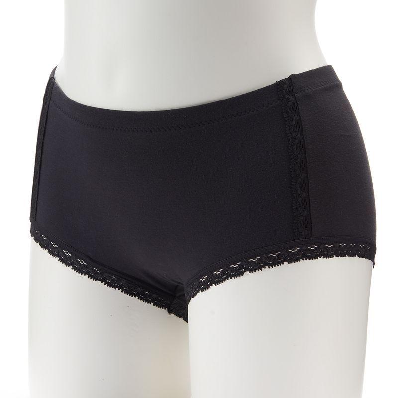 Maidenform Cotton Lace Boyshorts Dm0021 Women S Size Small Oxford Cotton Lace Lace Boy Shorts