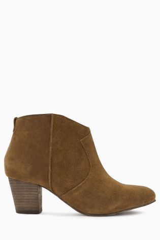 next suede western boots knee high